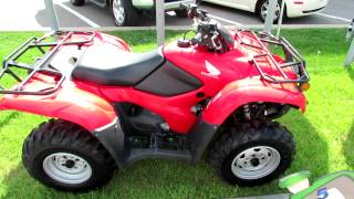 2012 Honda Fourtrax AT TRX420PG Canadian Trail Edition - All Terrain Vehicle ATV