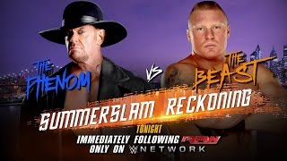 A look at the intense rivalry between The Undertaker and Brock Lesnar: Raw, Aug. 10, 2015