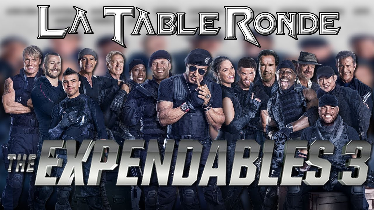 Download EXPENDABLES 3 (SPOILERS) ║ La Table Ronde #11