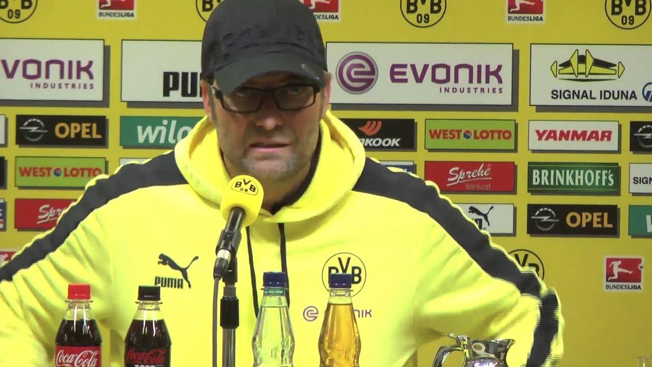 BVB Pressekonferenz vom 06. April 2013 nach dem Spiel Borussia Dortmund gegen den FC Augsburg