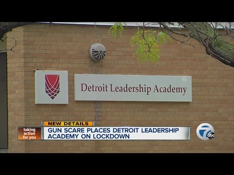Gun scare places Detroit Leadership Academy on lockdown