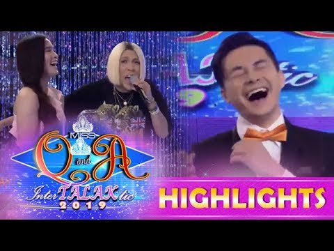 It's Showtime Miss Q & A: Kuya Escort Greg is afraid of heights