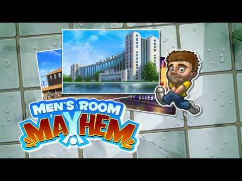 Mens Room Mayhem Gameplay Trailer: Google Play Store