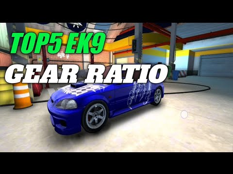 Top5 Gear Ratio Ek9 Car Parking Multiplayer Youtube