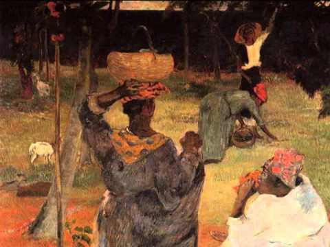 Darius Milhaud, Chanson Créole, 1/2 Martinique, Paul Gauguin