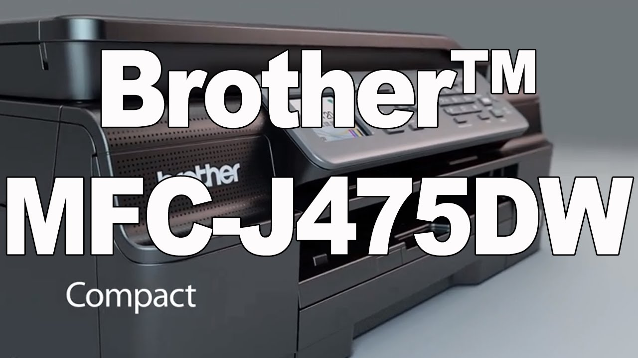 brother mfc-j475dw drivers