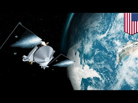 NASA spacecraft 'slingshots' around Earth for 8,500mph speed boost in asteroid hunt - TomoNews