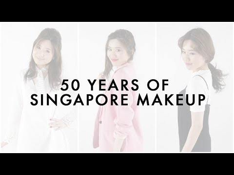 50 Years of Singapore Makeup | Daily Vanity