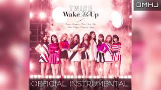 TWICE - WAKE ME UP [OFFICIAL INSTRUMENTAL]