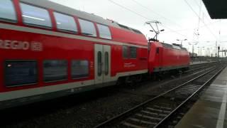 Elbe Saale Bahn im Magdeburger Hauptbahnhof