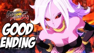 GOOD ENDING! Android 21 Is Defeated! - Dragon Ball FighterZ: Story Super Warrior Arc Part.5