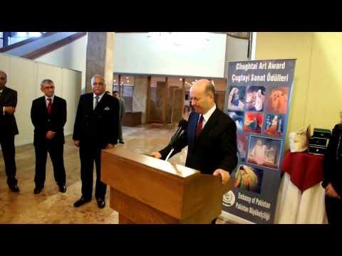3rd Chughtai Art Awards Ankara Turkey - 3 Çugtai Sanat Ödülleri Töreni Ankara'da gerçekleşti