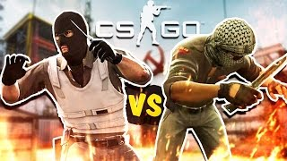 AIM 1VS1 CS:GO | Кто-то поддается?