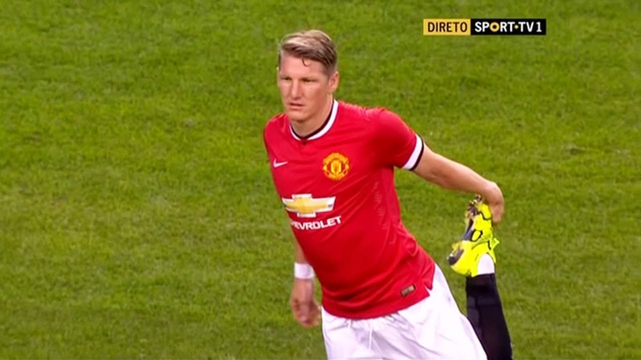 Bastian Schweinsteiger debut for Manchester United MU vs Club