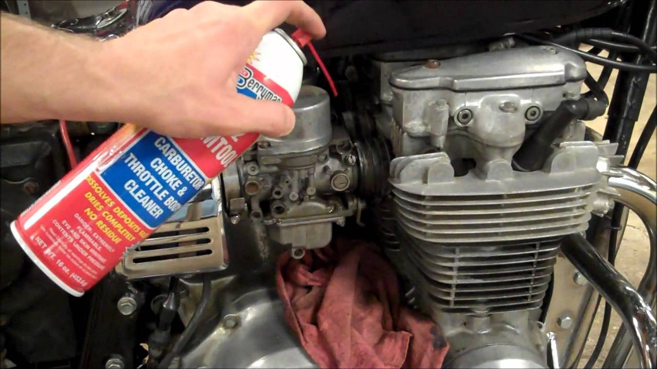 How To Diagnose Motorcycle Vacuum Leaks Youtube