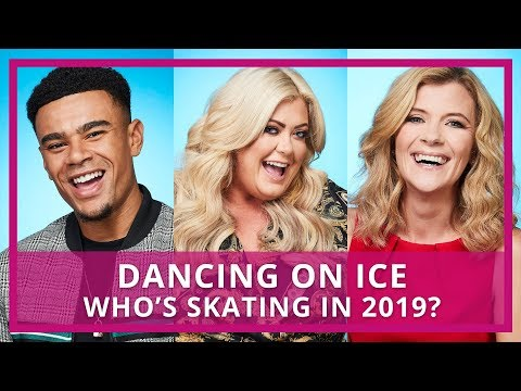 Dancing on Ice 2019 Celebrity Skaters