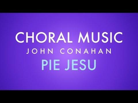 PIE JESU - John Conahan (SATB piano)