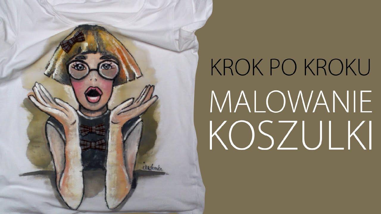 KROK PO KROKU malowanie koszulki według Twojego projektu   -> Kuchnia Kaflowa Krok Po Kroku