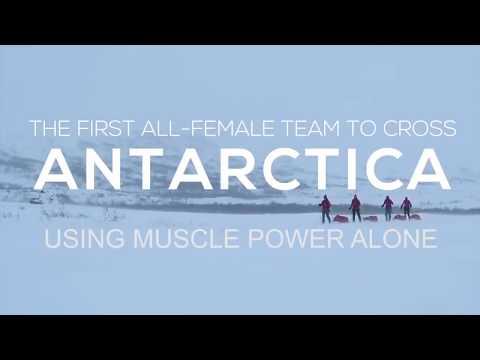 Antarctica -  Lie after Lie...Flat Earth Evidence - The Great V Shaped Trek