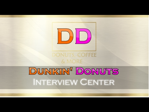 How to pass Dunkin Donuts Interview! (Passed!)