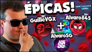 Las MEJORES PARTIDAS de MI VIDA con GuilleVGX 😎🔥 Alvaro845