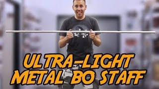 Ultra-Light Aluminum Bo Staff - Reverse Rolling Tutorial   KarateMart com