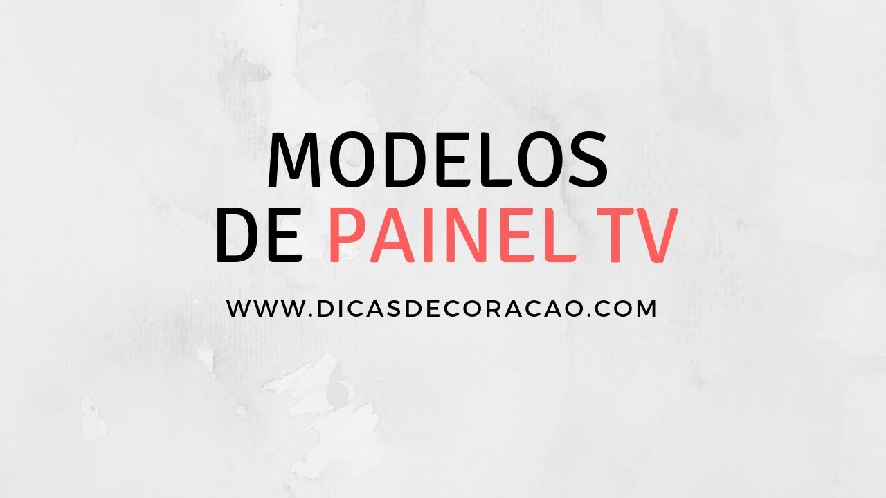 Painel TV - 15+ Modelos