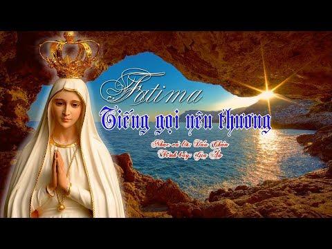 🎼🎧VIDEO THÁNH CA - FATIMA TIẾNG GỌI YÊU THƯƠNG - Gia Ân l Dấu Chân official l