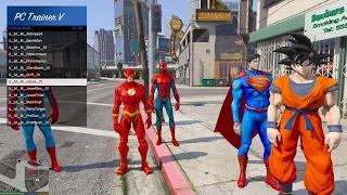Hướng dẫn thêm Skin mới vào GTA 5 (Siderman, Batman, Iron-man)