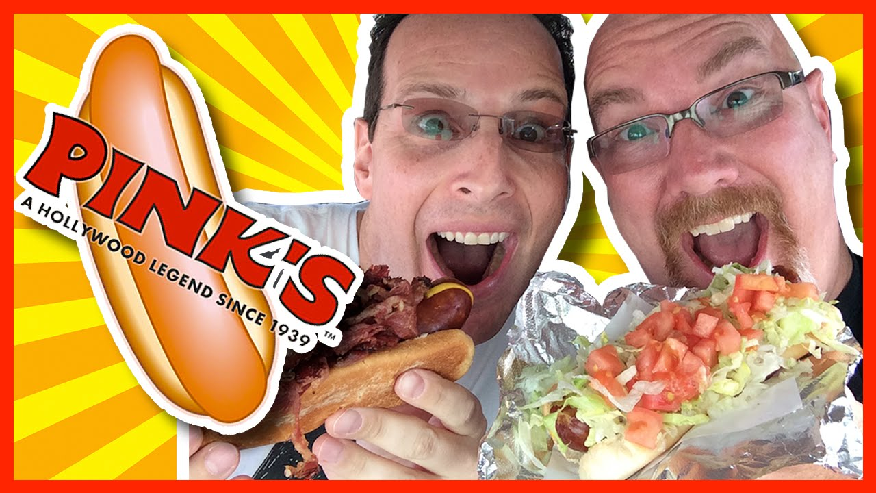 Pink's Hot Dogs with Ian Keiner from Peep This Out in Hollywood