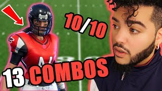 13 BEST NFL SKIN + BACKBLING COMBOS in Fortnite (Football Skin Combinations)