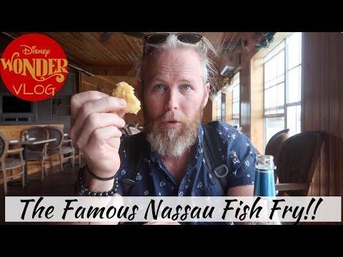 The Famous Nassau Fish Fry & Senor Frogs | Disney Wonder Vlog