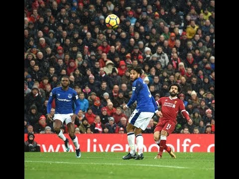 View From Every Angle Mo Salah Wonder Goal Against Everton 1080p HD.