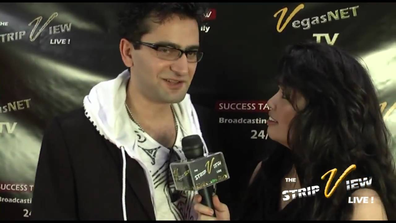Antonio Esfandiari (Pro poker player) on The STRIP VIEW .