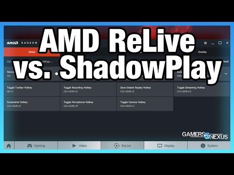 AMD ReLive vs. NVIDIA ShadowPlay Comparison