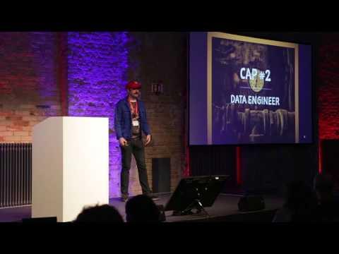 """""""The Data Janitor 101"""", Daniel Molnar"""