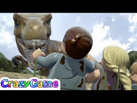 LEGO Dinosaurs Jurassic Park Game Movie - #LEGO Jurassic World For Children & Kids