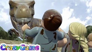 LEGO Dinosaurs Jurassic Park Game Movie - #LEGO Jurassic World For Children