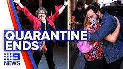 Coronavirus: Thousand hotel quarantine travellers checked out | Nine News Australia