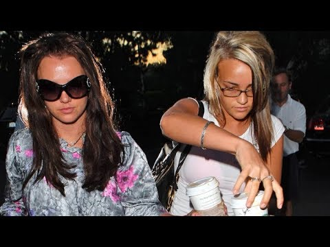Britney Spears And Jamie Lynn Have A Sisters Day Out In Beverly Hills 2007 Youtube