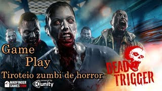 Dead Trigger - Tiroteio zumbi de horror -  Android Gameplay