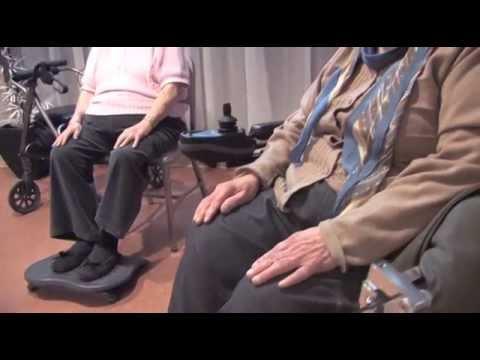 yoga sur chaise pour soulager la douleur chronique youtube. Black Bedroom Furniture Sets. Home Design Ideas