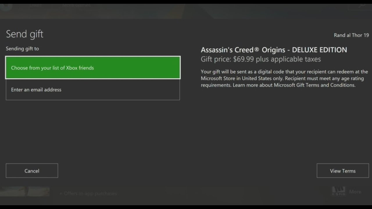 Xbox One Digital Game Gifting is HERE! - This is How it Works