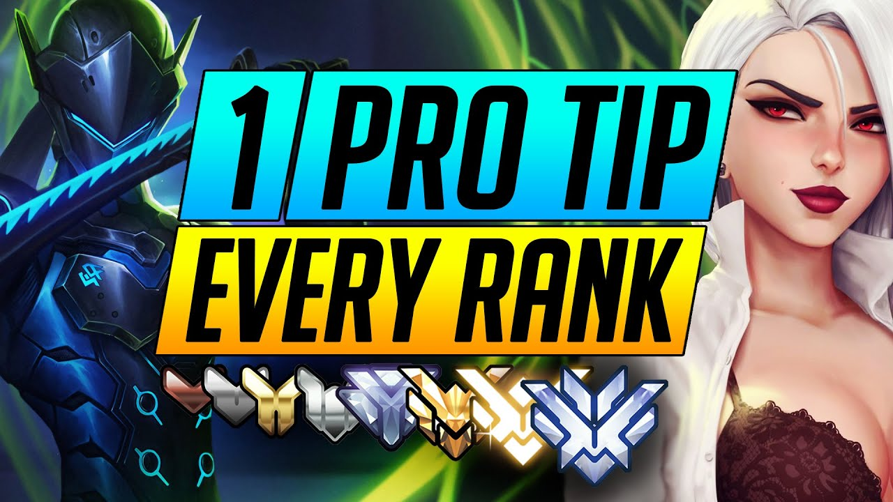1 BEST TIP for Every Rank of Overwatch - RANK UP FAST with ANY ROLE - Advanced Guide