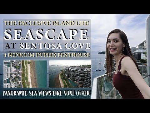 Seascape | Sentosa Island Living Duplex Penthouse with the Best Seaviews Ever | Singapore Condo