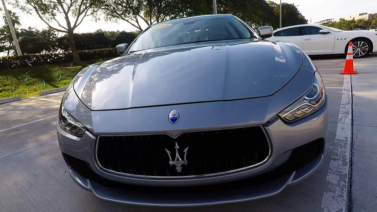 2015 maserati ghibli for sale low miles pristine ebay. Black Bedroom Furniture Sets. Home Design Ideas