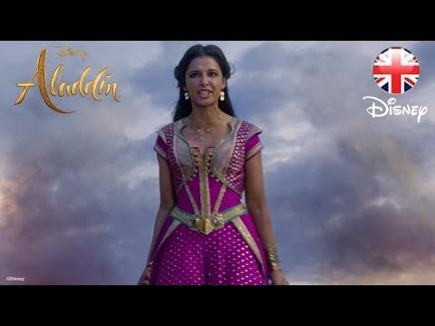 ALADDIN  Naomi Scott - Jasmine Sings Speechless Clip   Disney UK