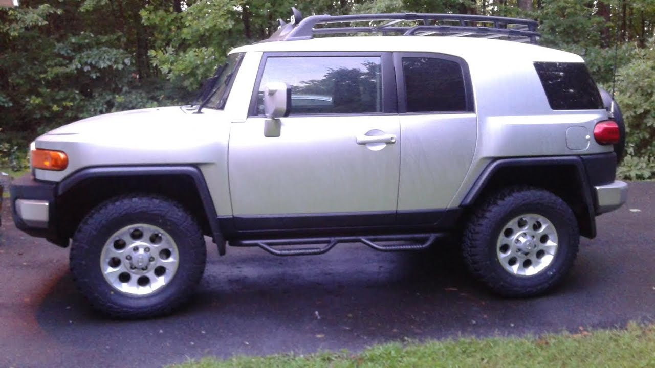 Bug Out Vehicle Toyota : Toyota fj cruiser bug out vehicle project youtube