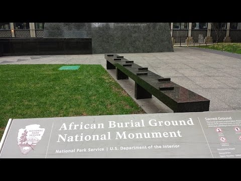 African Burial Grounds presentation @ Nassau County African