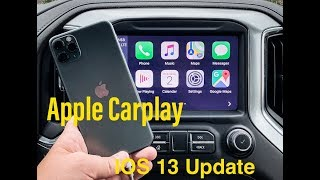 Tutorial of the ALL NEW Apple Carplay - IOS 13 on IPhone 11 Pro Max
